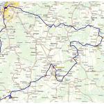 Karta för Gotlandsrundan 2017